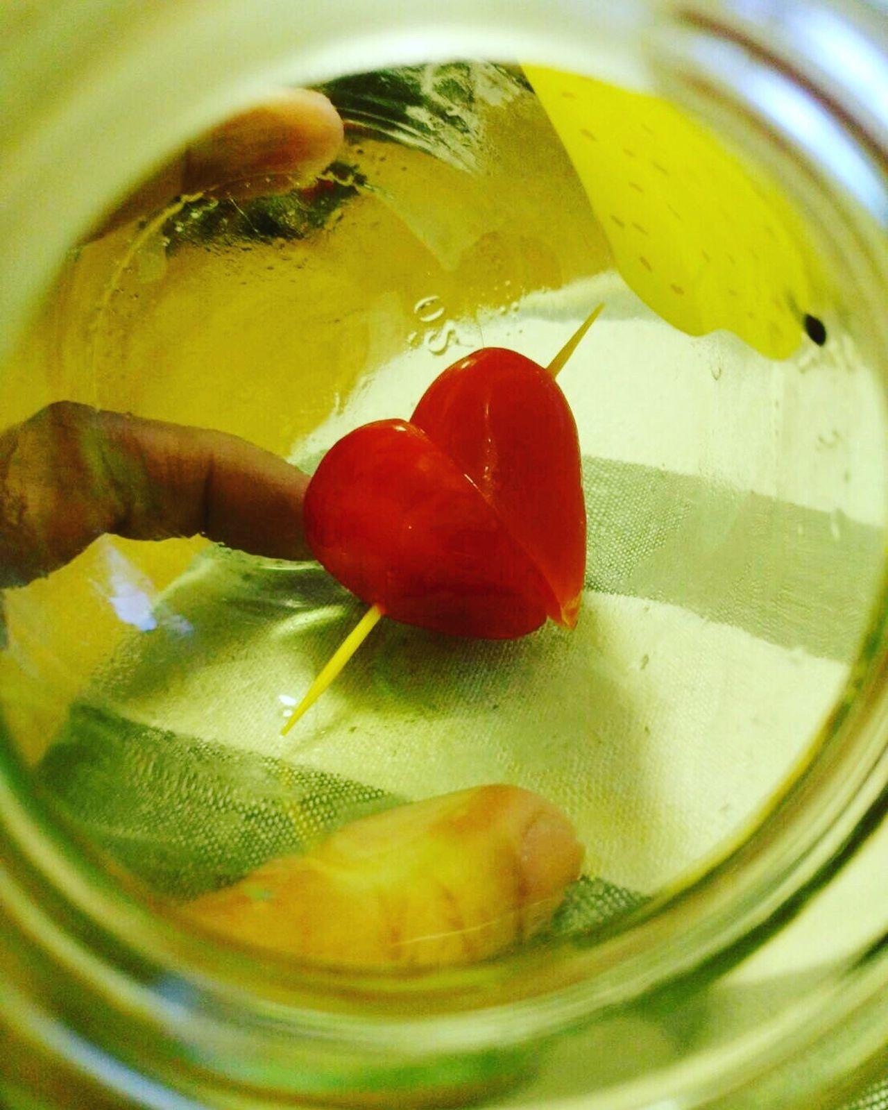Heart Valentine's Day  Little Jars  Lovely Happiness Tomato Feeling