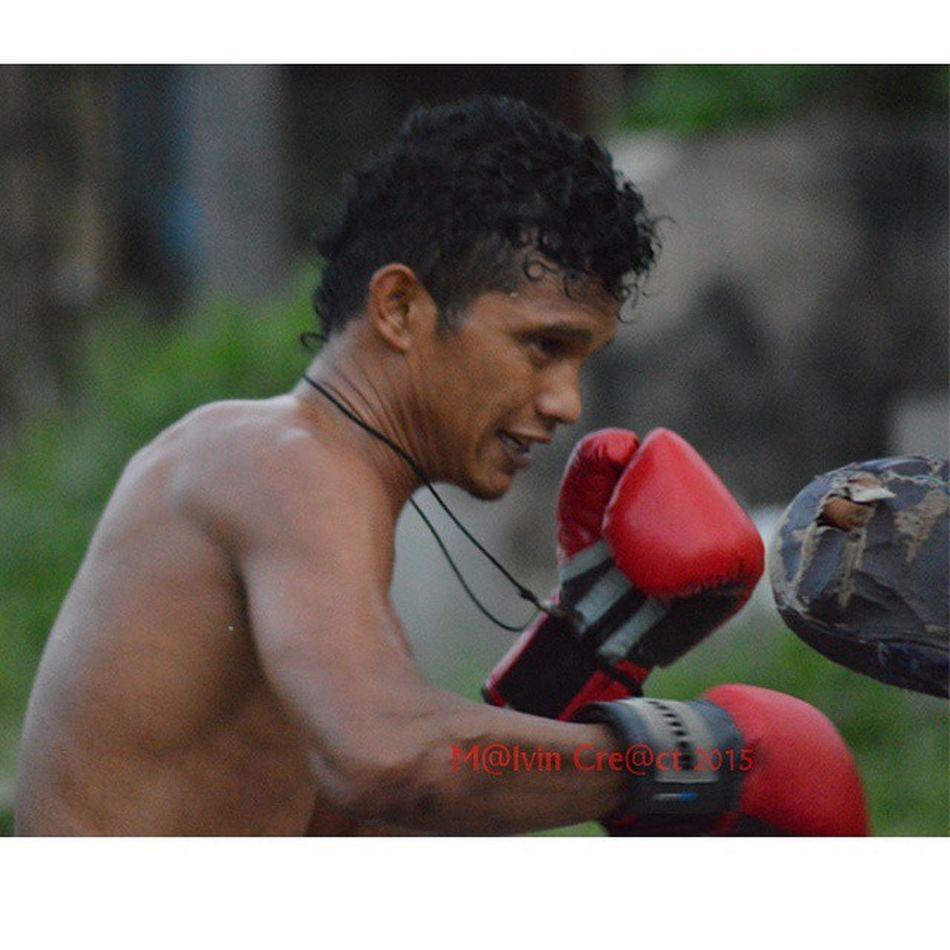 Boxer workout...Pertina Simalungun Pematangsiantar Boxing Boxer Petinju Kti