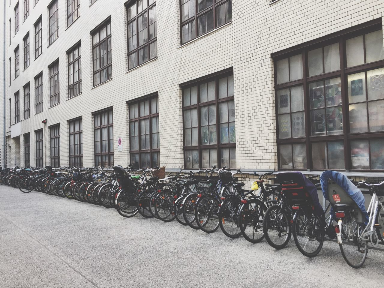Bicycle Wall Windows Outdoor Photography Transportation Cold