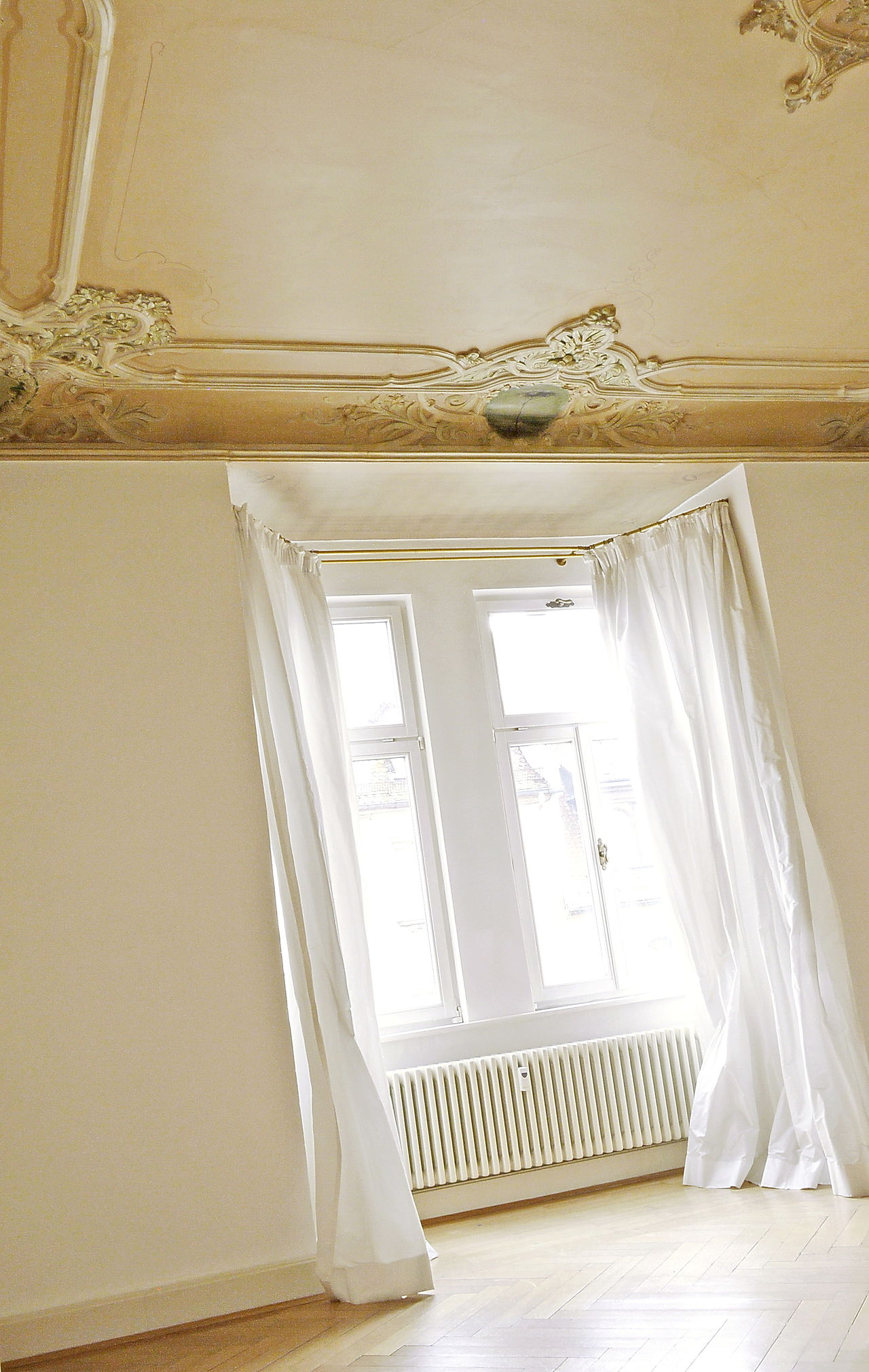 Living Room Low Angle Art Nouveau