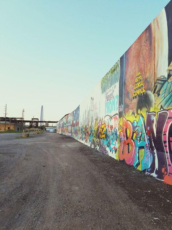 Graffiti Wall // St. Louis, MO Check This Out First Eyeem Photo