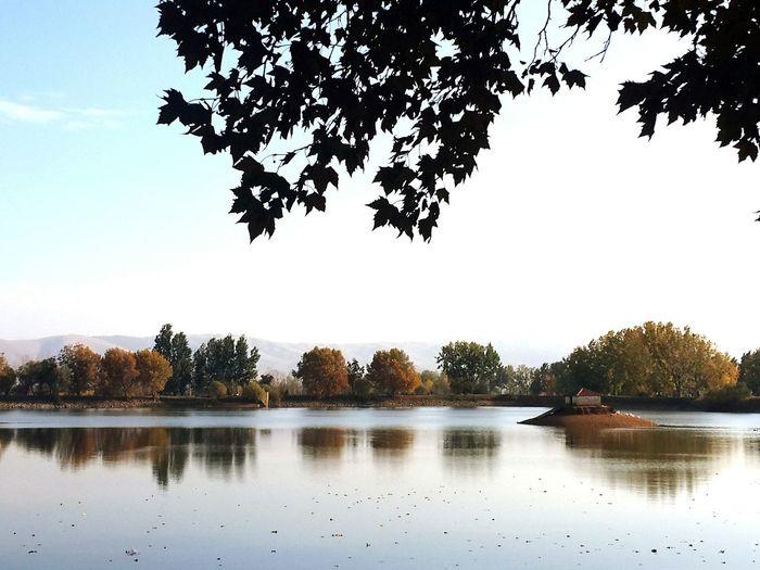 Taanayel lake Lebanon Bekaa Lake View Lake Nature
