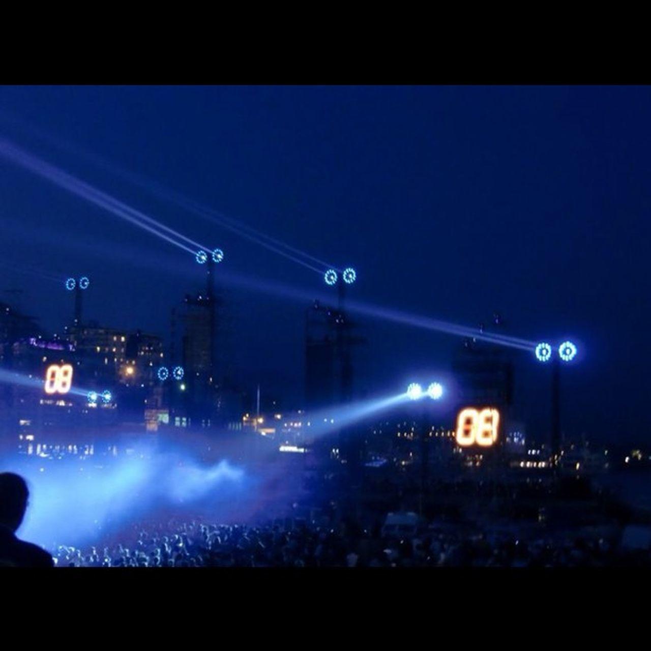 #monaco #concert #laser #light #audience #jarre #blue #night Monaco Audience Jarre Night Concert Light Music Blue Live Laser