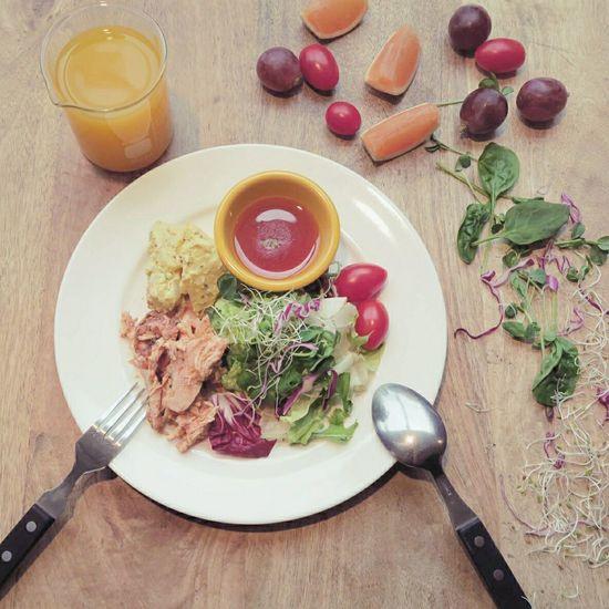 今天沙拉。 吃吧 Vegetables Salad Food Lunch Taiwan Fruits