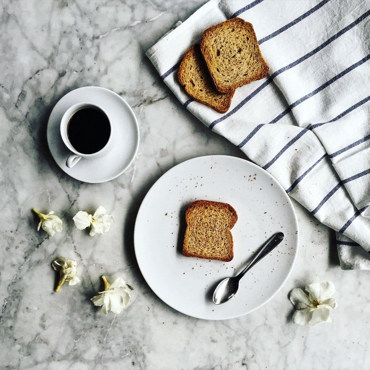 Beautiful stock photos of coffee, Black Coffee, Bread, Breakfast, Close-Up