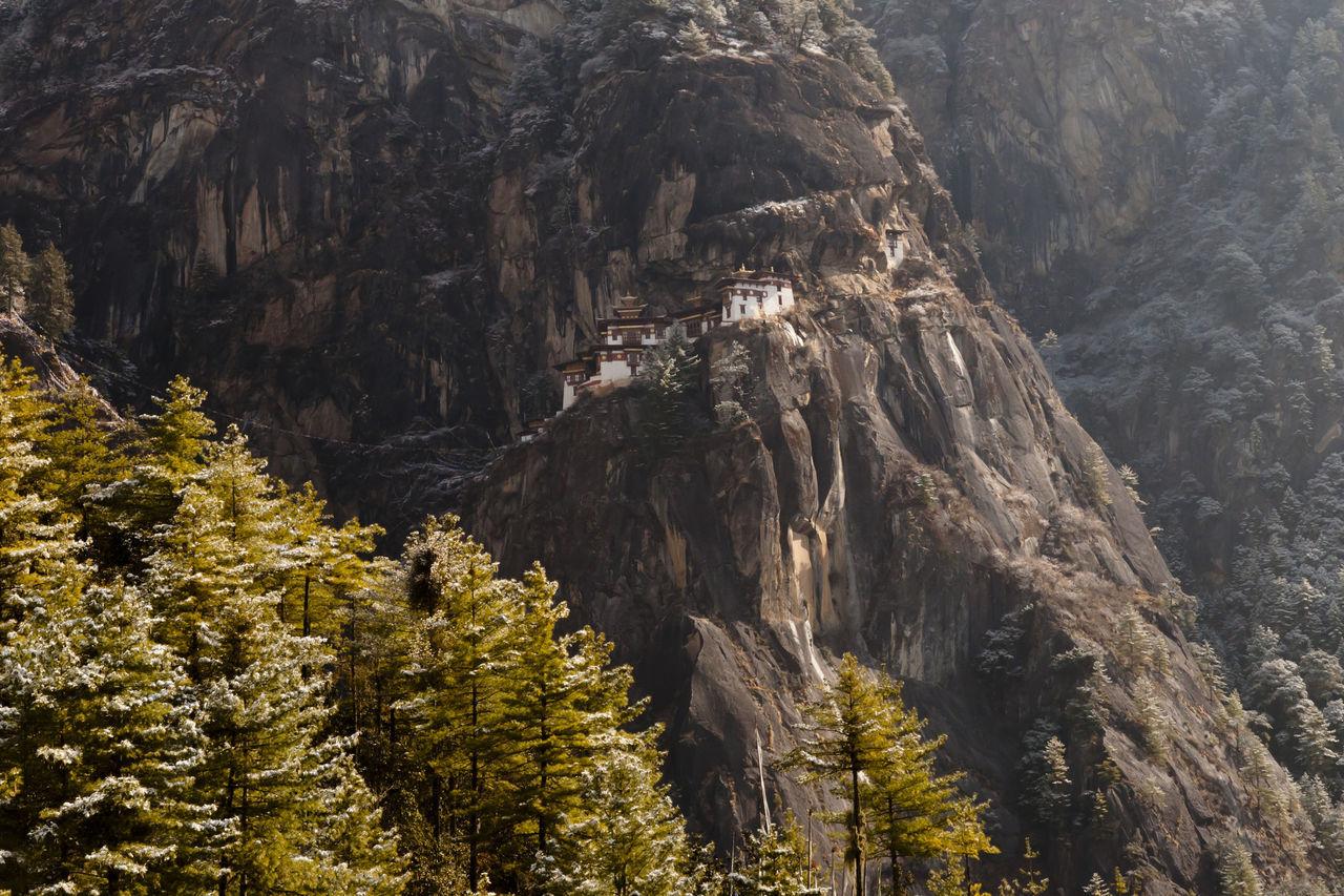 Taktsang Monastery (Tiger's Nest) - Bhutan Taktsang Taktsang Monastery Tiger's Nest Bhutan Buddhism Cliff Mountain Paro Rock - Object Rock Formation Temple