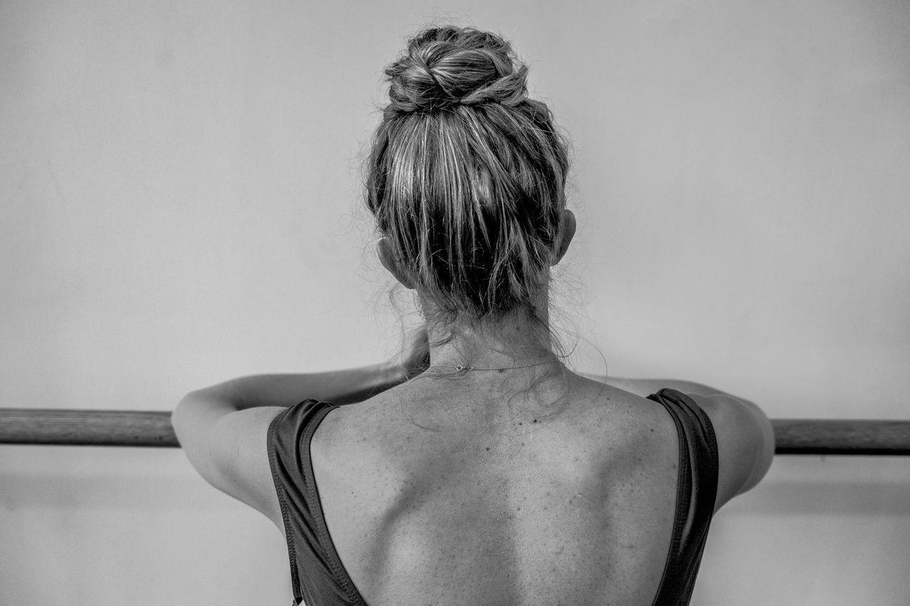 Beautiful stock photos of ballet, Barre, Day, Hair Bun, Head And Shoulders