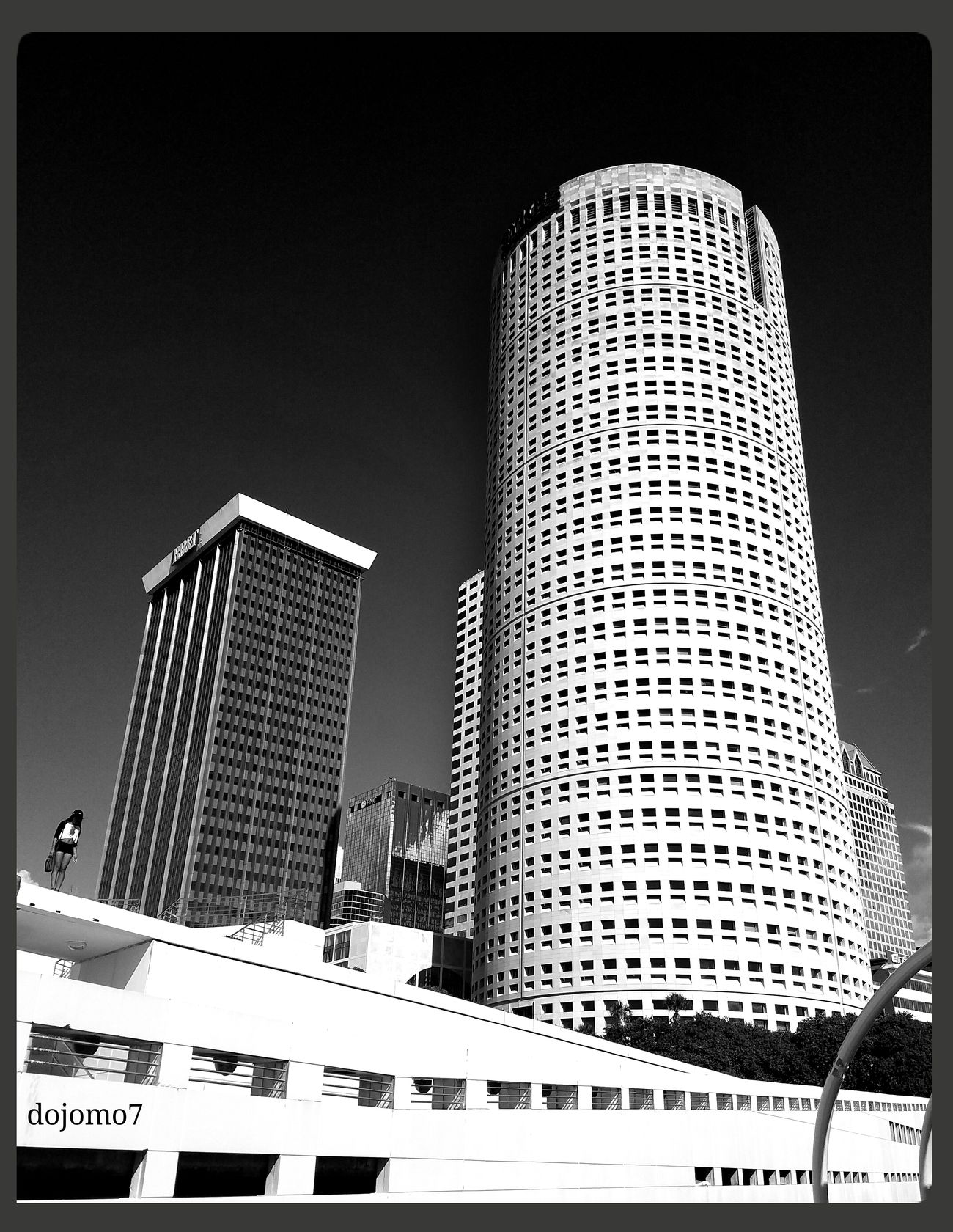 Taking Photos Tampa Florida Black And White Black&white Tampa Streamzoofamily Southern Life Buildings & Sky Photograph Taken By Me In Tampa Florida USA Summer Tampa Fl
