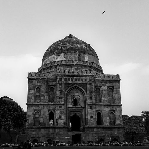Enjoying The Sun Picnic Blackandwhite Monument Heritage Delhi