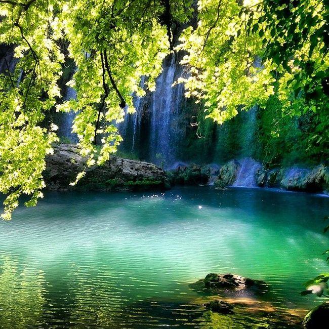 Kucuk Cennet Kursunlu şelalesi türkiyem her karış toprağı cennet