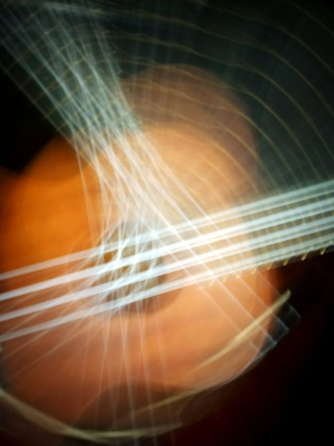 Web of Ukelele Ukelele Long Exposure Music Musical Instruments Strings Uke Experimental Photography Web Iowa Cedar Rapids Canman Show Studio