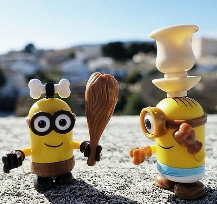 Cute♡ Day Focus On Foreground Happy :) Happy Time Love It Minion Love Minions Minionsworld No People Outdoors Sunny Day