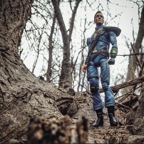 Fallout Vault Hunter Toy Photography