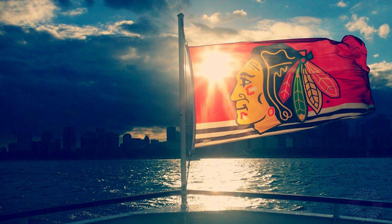 Chicago Blackhawks Letsgohawks Stanleycupchampions 2015  Photography Photooftheday Chicago Sunshine