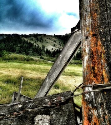 fences at idaho by Stacy Ericson