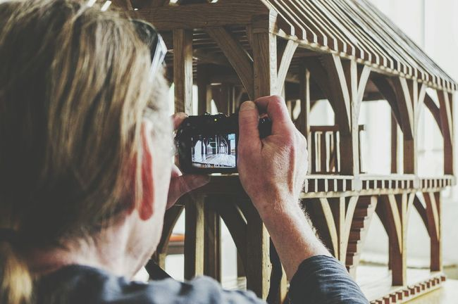 One Person Adult Headshot Close-up Photographing Human Hand Photography Themes The Secret Spaces EyeEm Diversity Building Story Buildings Interior Style Indoors  Interior Views Art Is Everywhere Indoor Photography Mill Miniature House Timber Building Craftsmanship  Craft Carpenter Carpentry