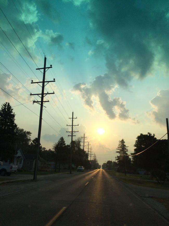 Good morning! Sunrise Sky Clouds