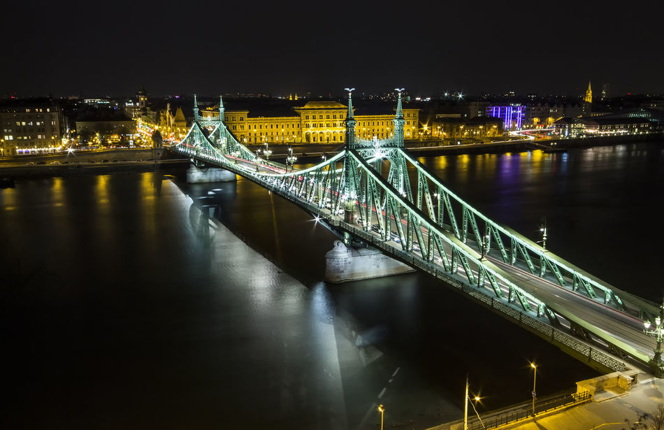Beautiful stock photos of budapest, Architecture, Bridge - Man Made Structure, Budapest, Building Exterior