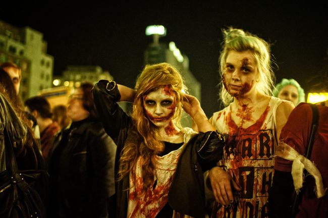 "Four of my new photos on ""Big in Berlin on www.mitvergnuegen.com - check it out! Berlin Zombiewalk"