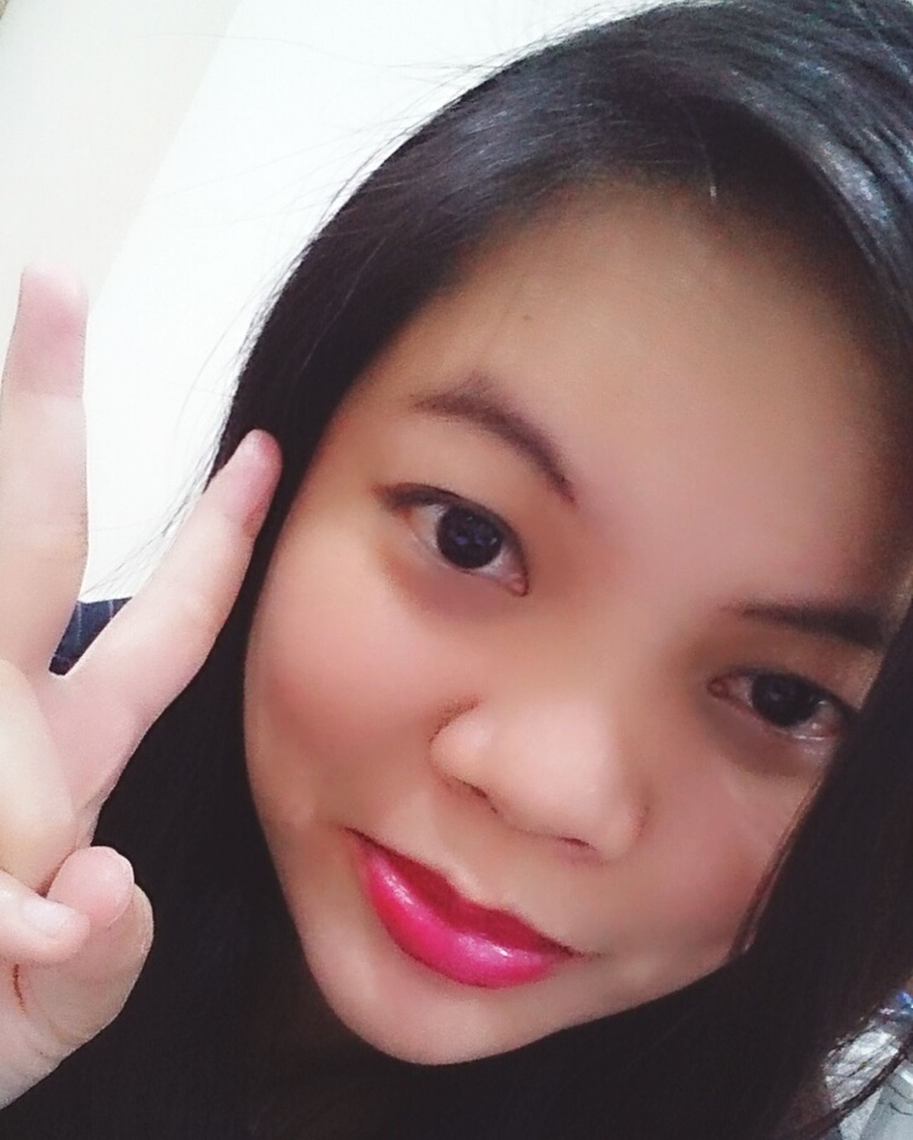 Selfie ✌ FaceTime Makeup ♥ Itsagirlthing Eyeemselfie LikeforlikeFreshface  Love ♥ Hotlook.♡♡