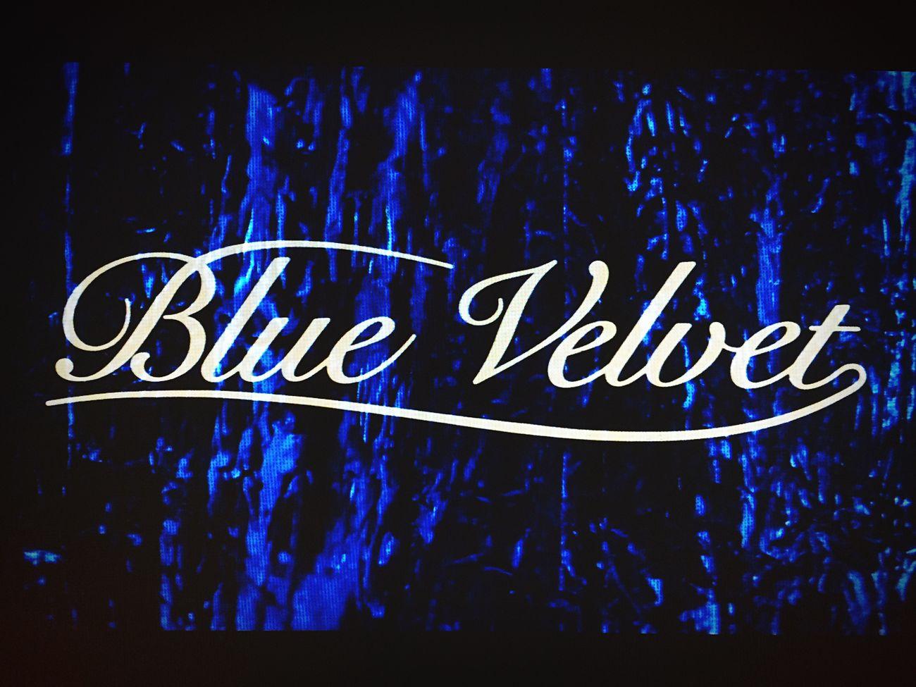 DavidLynch Blue Velvet