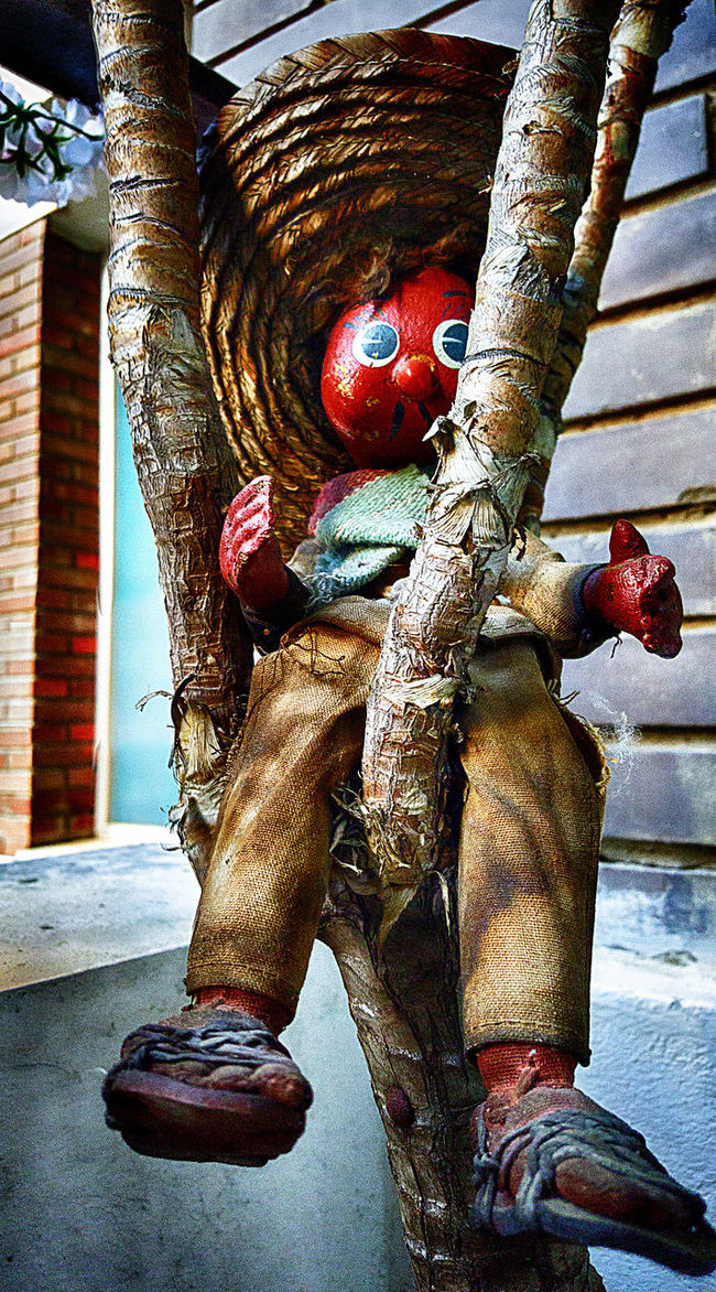 Deterioration Dummy Old Old And Dirty Old Toys Puppet Rusty Samsungphotography Scarecrow Up In A Tree