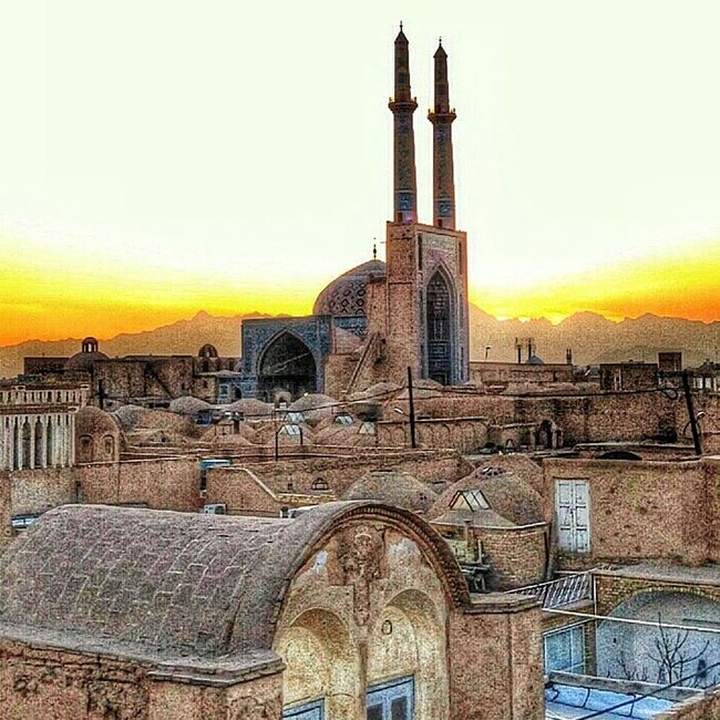 Iran Ziba Masjed Jame Yazd ایران زیبا مسجدجامع یزد بپسندphoto by @soroush_kitkat