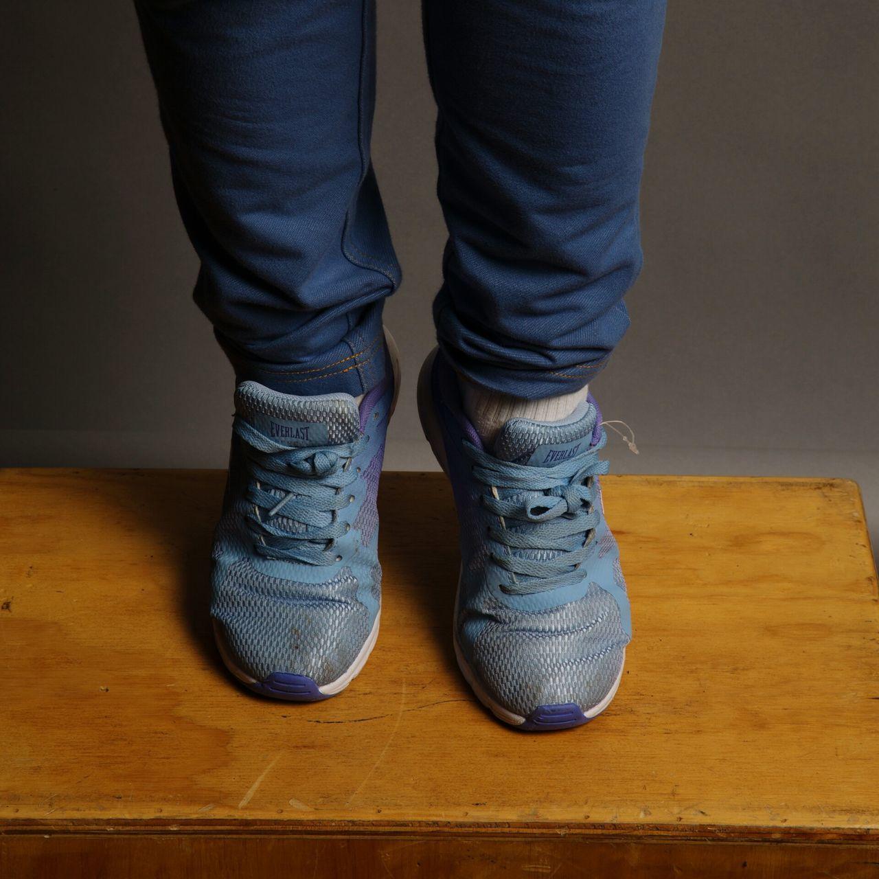 Feet Tippy Toes Studio Shot Box