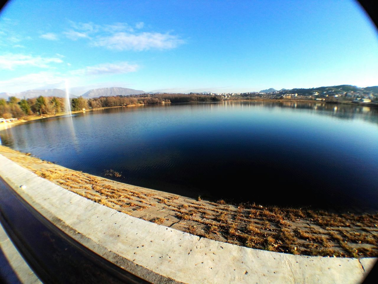 no people, water, day, built structure, scenics, lake, outdoors, sky, nature, beauty in nature, tree, architecture