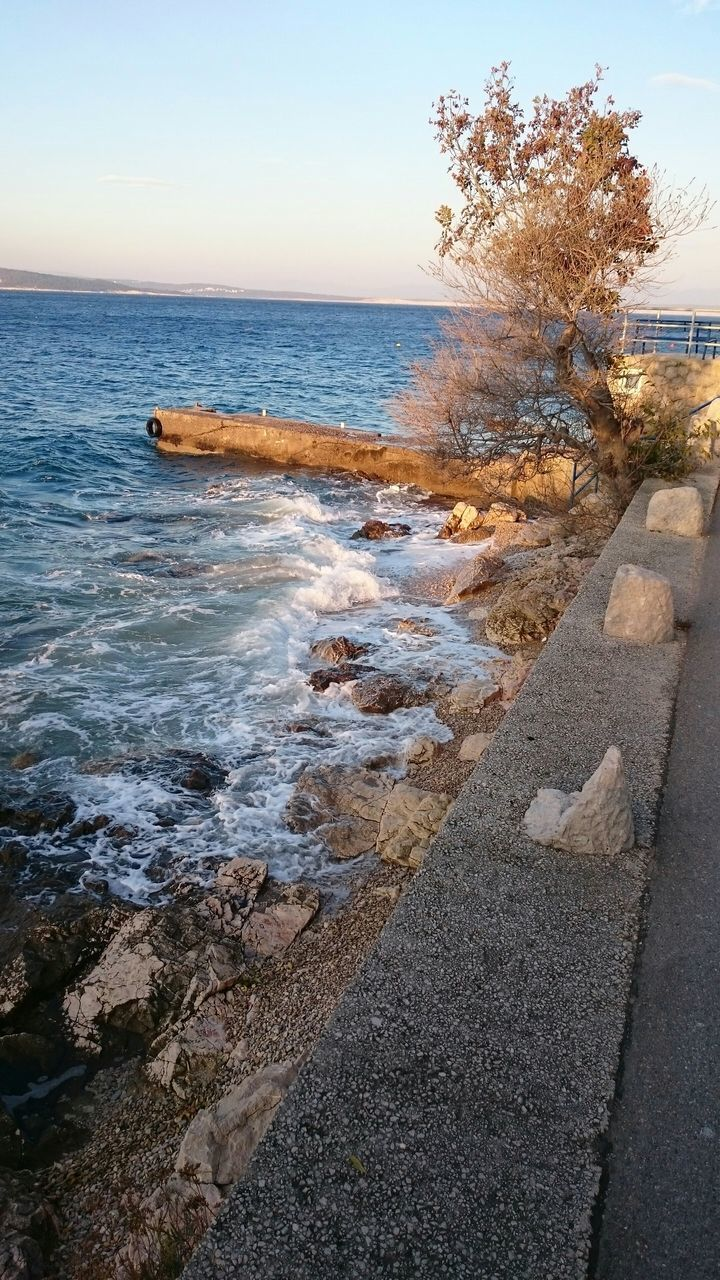 water, sea, nature, beauty in nature, beach, scenics, outdoors, no people, day, tree, sky