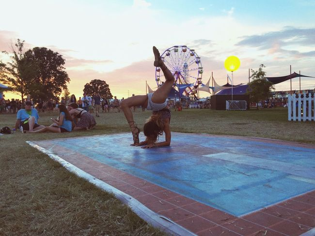 Bonnaroo Tennessee Yoga Music Festival