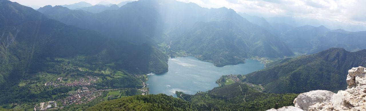 Trentino  Mountains Lake Landschaft Ledrosee Bergsee Natural Beauty