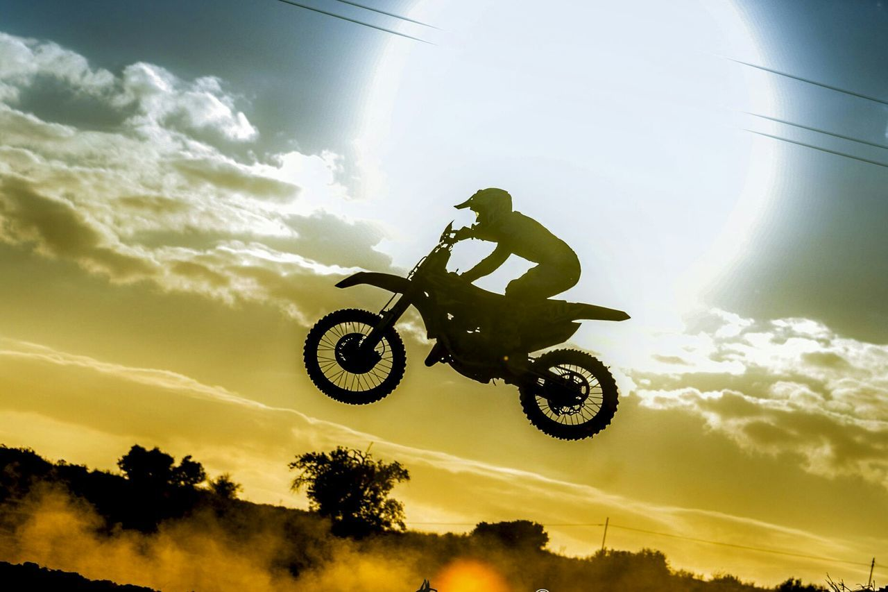 Sunset Extreme Sports Sports Race Competition Motorsport Outdoors Motorcycle Motocrossrace Mito Motocross Mx  Mxrace Sport Competitive Sport Shadow Mid-air Low Angle View Sky Stunt Race Mxrace Racing