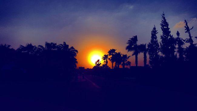Sunset Sunset #sun #clouds #skylovers #sky #nature #beautifulinnature #naturalbeauty Photography Landscape [a:2597089] Sky Scenery Shots Showcase April Eyemphotography Endoftheworld