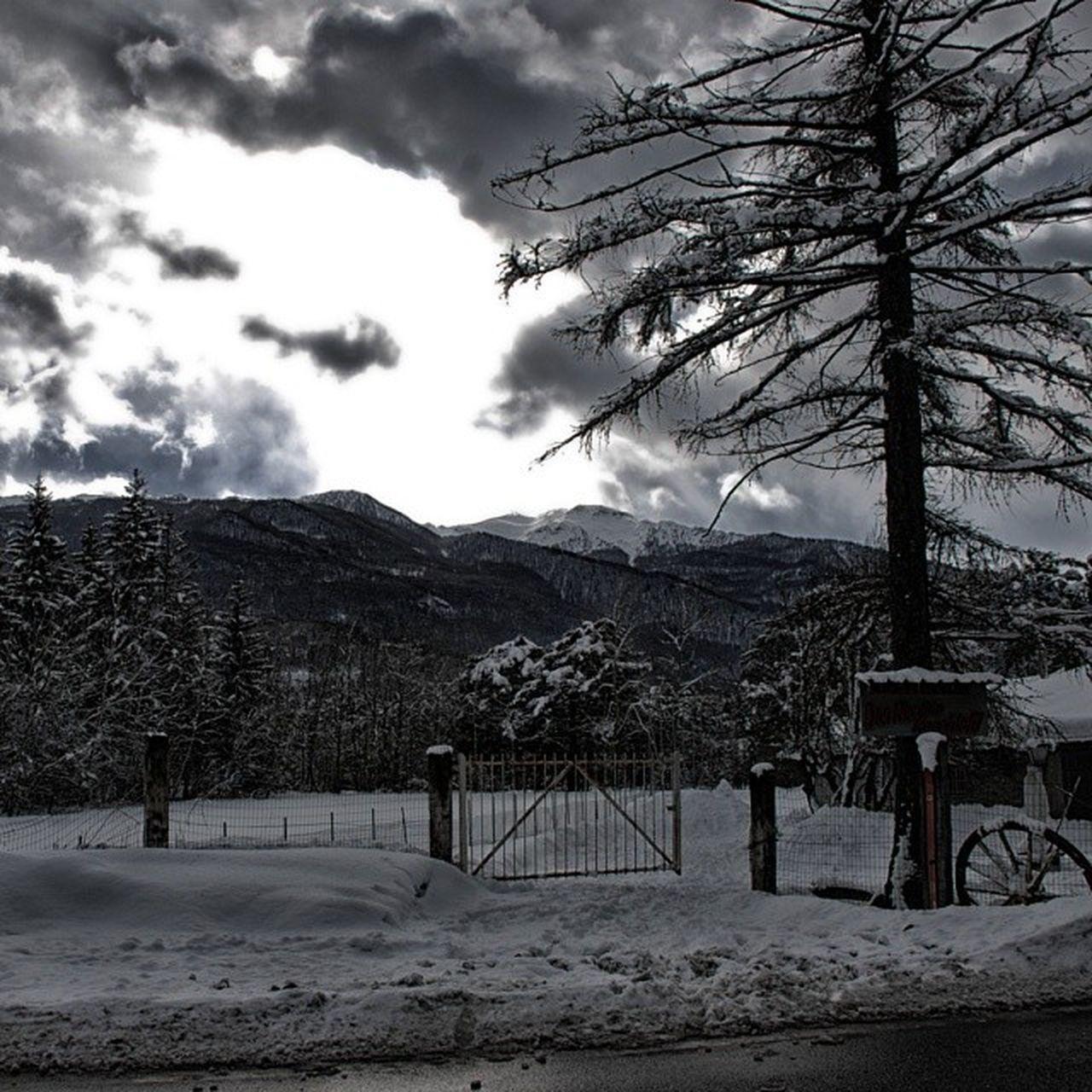 Winter Snow Oulx Nosun