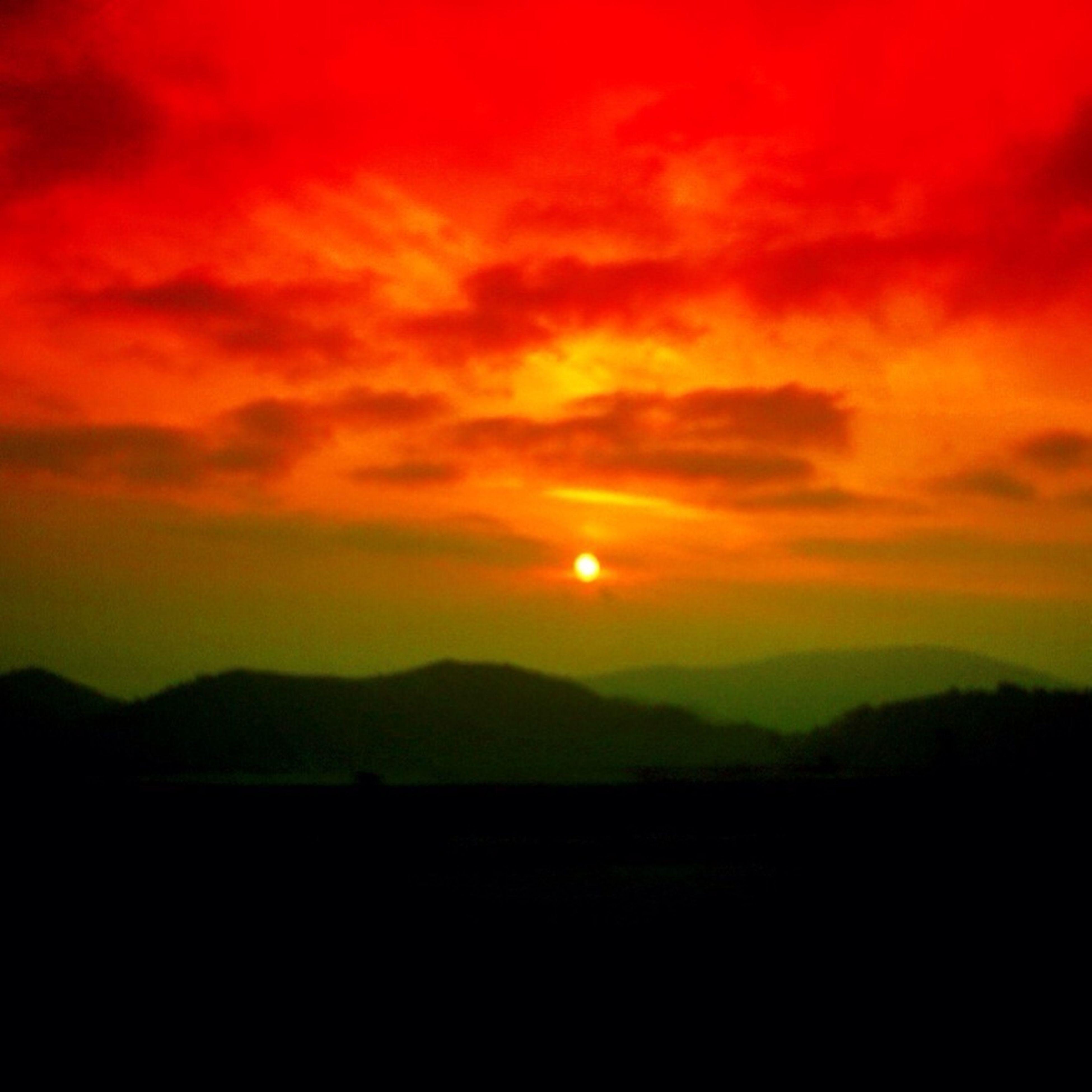 Clouds Sun Sunset Sky Trees Enjoying The Sun Hello World Gang_family Ee_daily