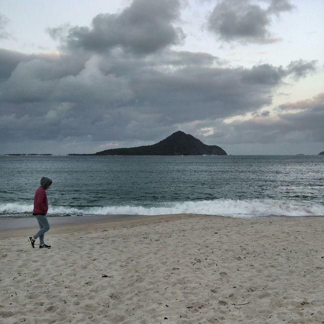 Stroll on the Beach ..Beachphotography Travel Photography Australia Nelson Bay Travel Ocean Waves