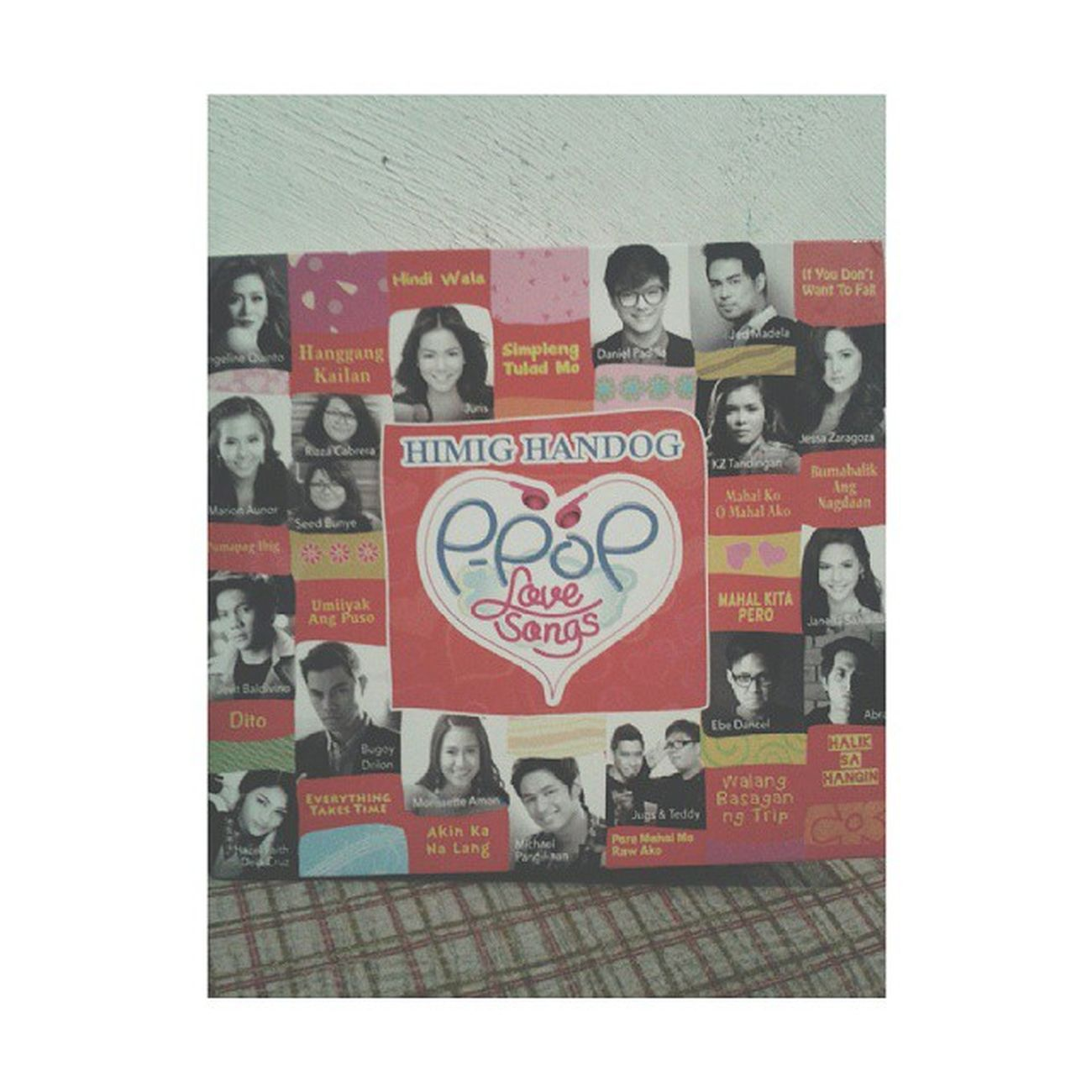 Yey! Got my copy na. Hehe. Salamat kay Ate Melba. ????? Himighandogppoplovesongs2014