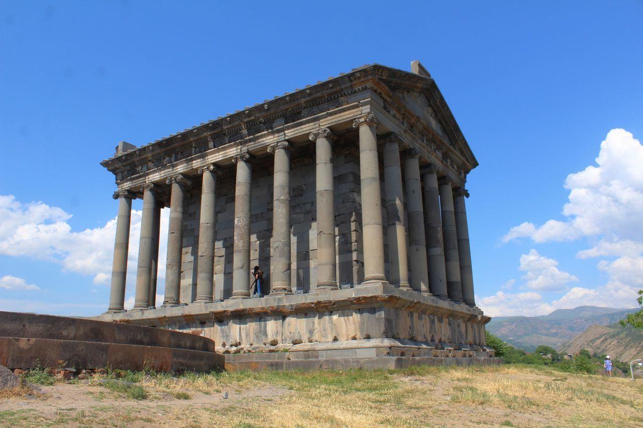 Garni Temple, Armenia Armenia Ancient Civilization Architectural Column Architecture Building Exterior Cloud - Sky Day Garni History No People Outdoors Sky Temple Travel Destinations