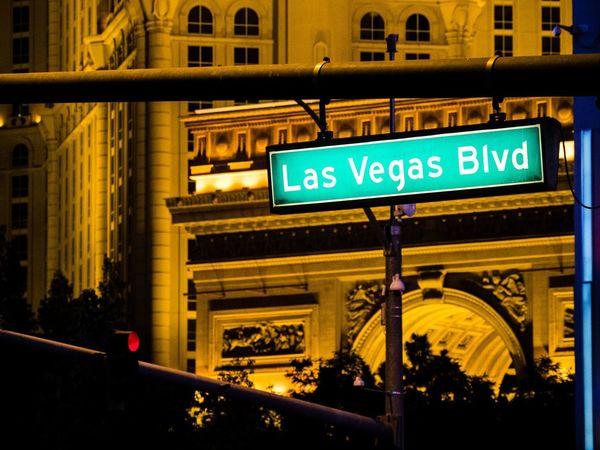 Boulevard Gambling Las Vegas Las Vegas Blvd Las Vegas Boulevard Las Vegas NV Night Life Paris Paris Paris Blvd City Illuminated Neon Night Road Sign Street Sign Text