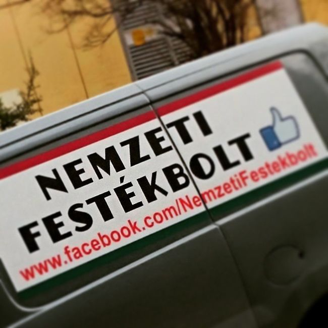 Best marketing ever! :D Ner Nemzeti Festek Marketing Advert Hungary Budapest Ig Ighun Instagram