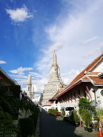 Architecture Sky Travel Destinations Watarunbangkok