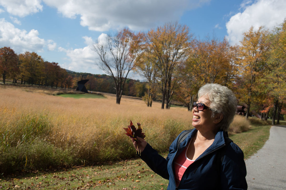 Chinese Fall Female Nature Outdoors Senior Citizen  Storm King