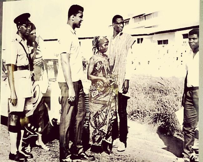 Muhamad Ali visit to Ghana as a young Boxer First Eyeem Photo