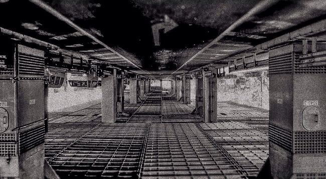 Upside Down 逆さま Black And White