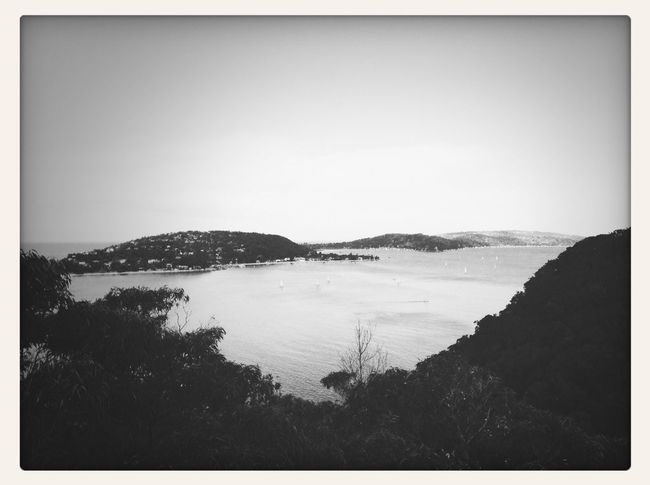Headland Ocean Ocean View Blac&white  First Eyeem Photo