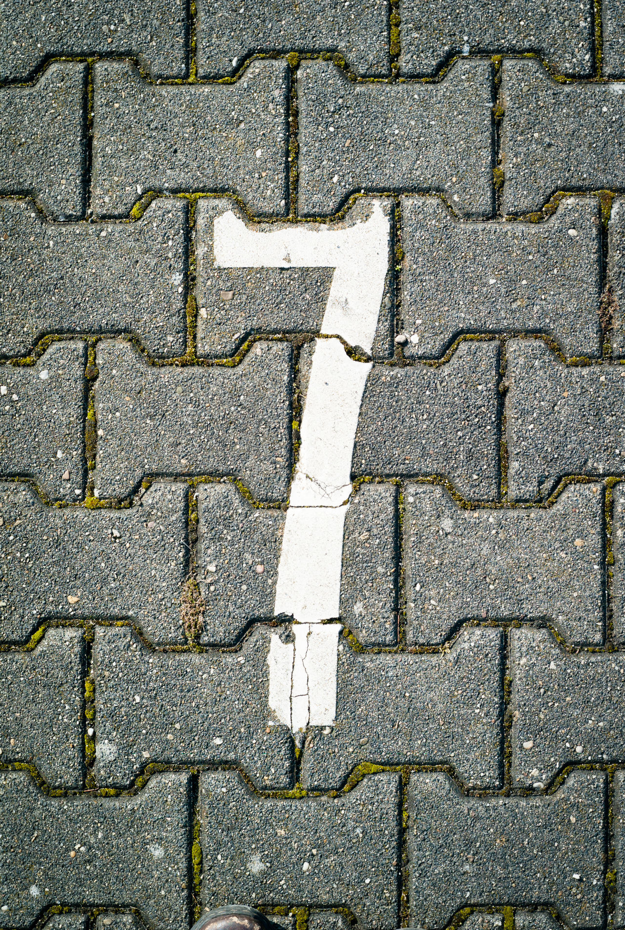 Number seven on pavement Abstract Background Texture Backgrounds Number Pavement Seven Texture Texture And Surfaces Textures And Surfaces