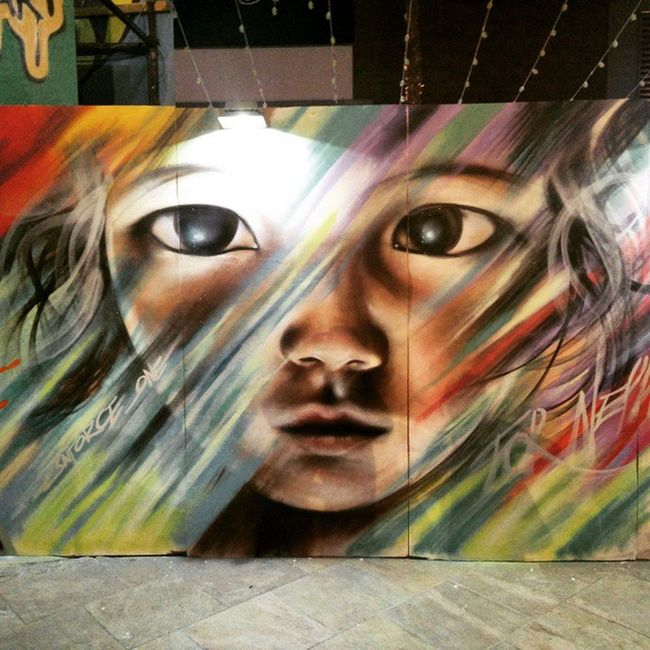 Some amazing Graffiti here at Streetnightsjbr