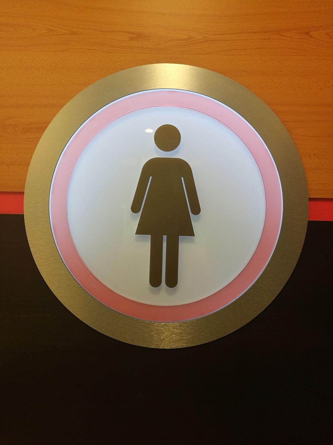 Circle Indoors  Wc Ladies Ladies Room Ladies Only  Woomen Wooman Woomen Door Woomen Room Bathroom Bathroom Art Bath