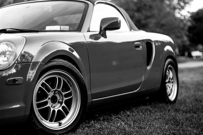 Car Carsofeyeem Blackandwhite Summer Toyota Mr2spyder MR2 Enkei Rpf1 NITTO Tein Convertible Roadster Midengine Clean Chemical Brothers Chemicalbrothers